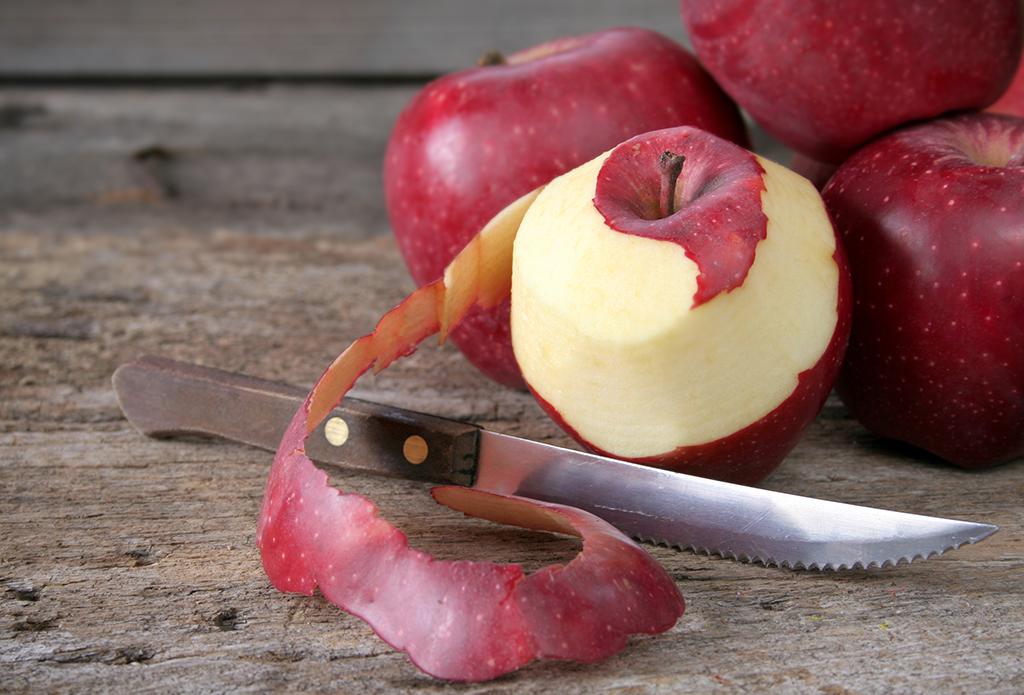 Apple peel used in Clarity